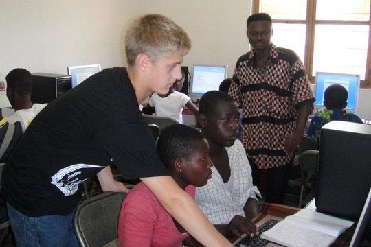 Training at the facility in Vo Pedakondji Village.