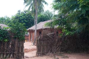 A typical home in the Village, Vo Pedakondji