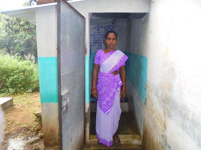 Sanitation and Clean Water for 60 Dalit Families
