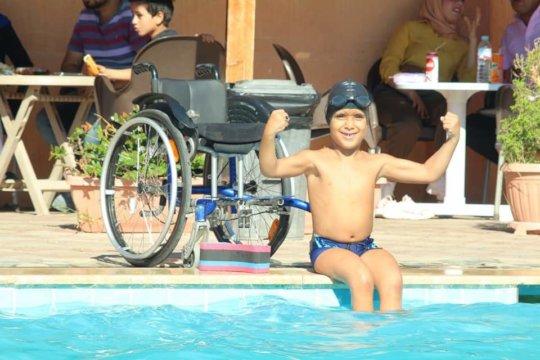 Mohamed - Swimming Champ