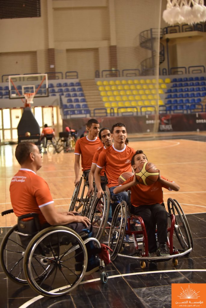 Sports and Arts for Egypt's Physically Challenged!