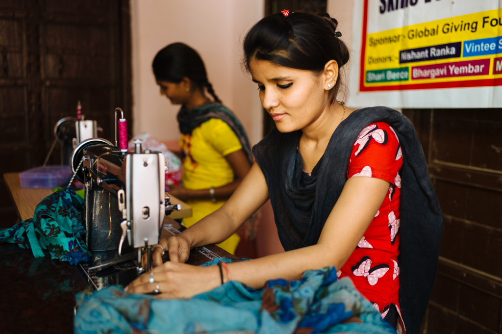 Give A Sewing Machine to a Single Mother