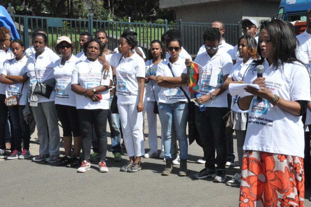 Walking Cane Support to 100 Parkinson Patients