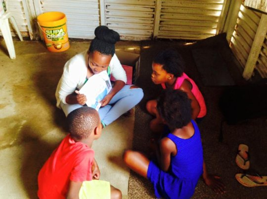 African Angels after school reading project