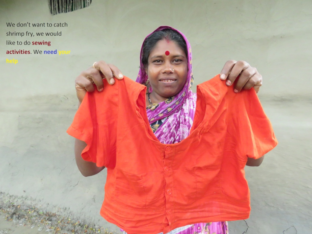 Help rural women to get sewing training