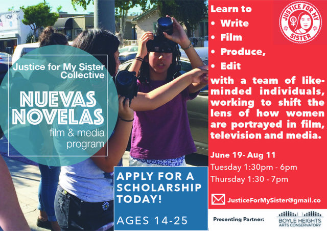 Nuevas Novelas workshops in Boyle Heights