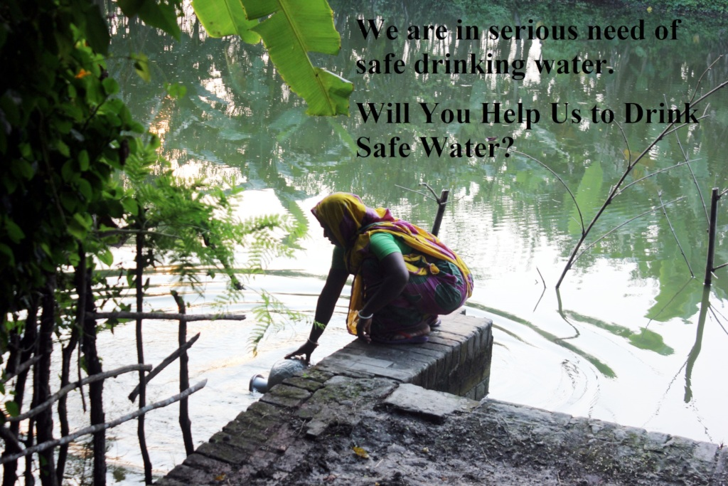 Help to get safe water