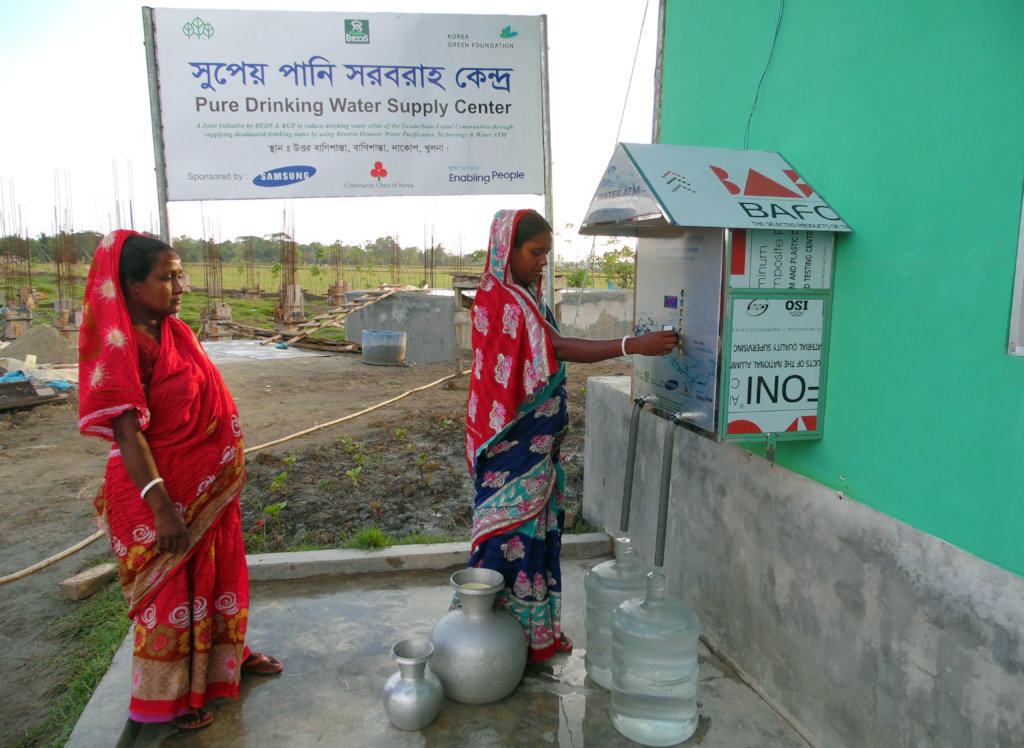 Drinking Water for coastal people in Bangladesh