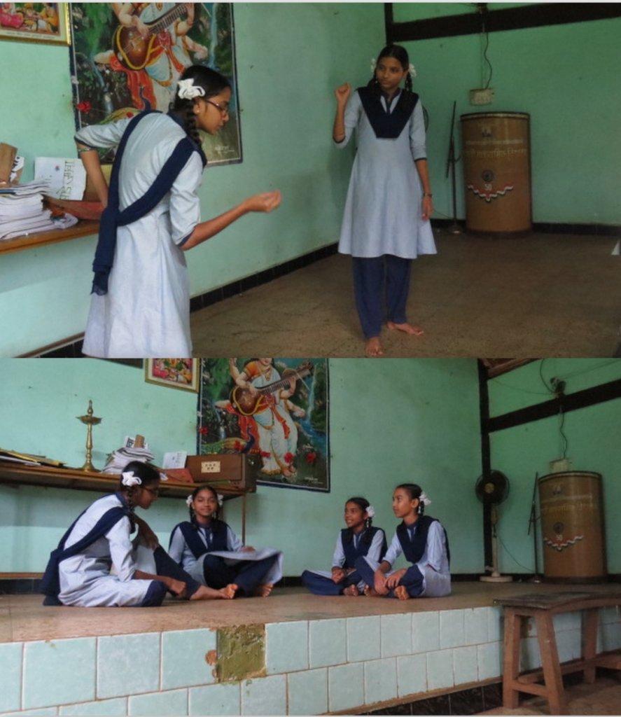 School Children Awareness Play on Indian Pangolin