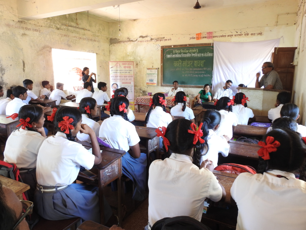 Education in schools about Pangolin and Wildlife.