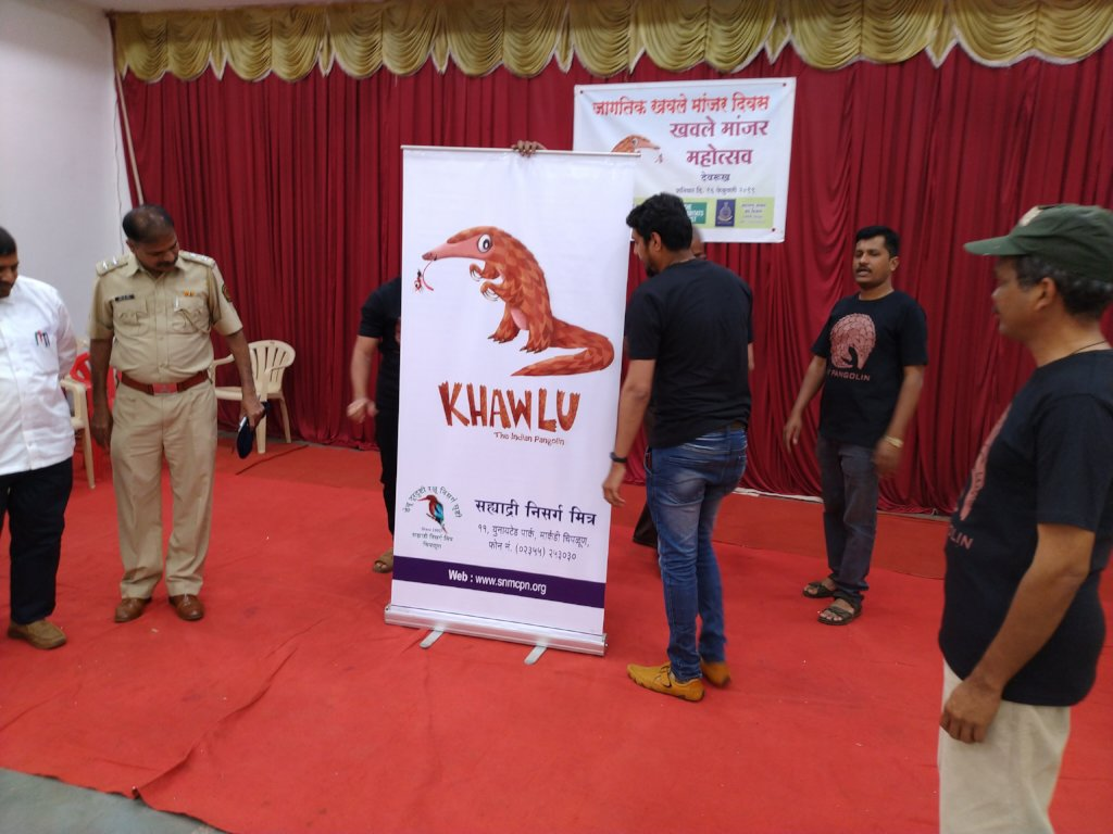 Release Khawlu (Indian Pangolin) Mascot