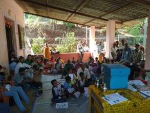 Beekeeping Livelihood Training.