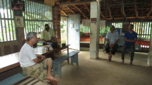 Interaction with local community members