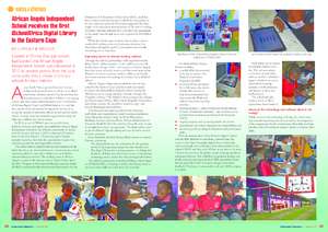 African Angels receives an iSchool Africa library (PDF)