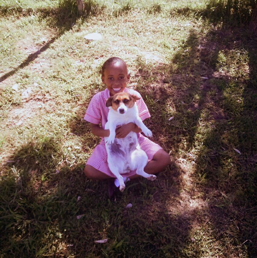 Onikwa and her puppy