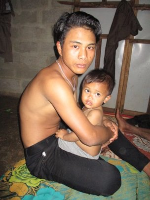 Assignment portraits:  Father & son.  photo: Linh