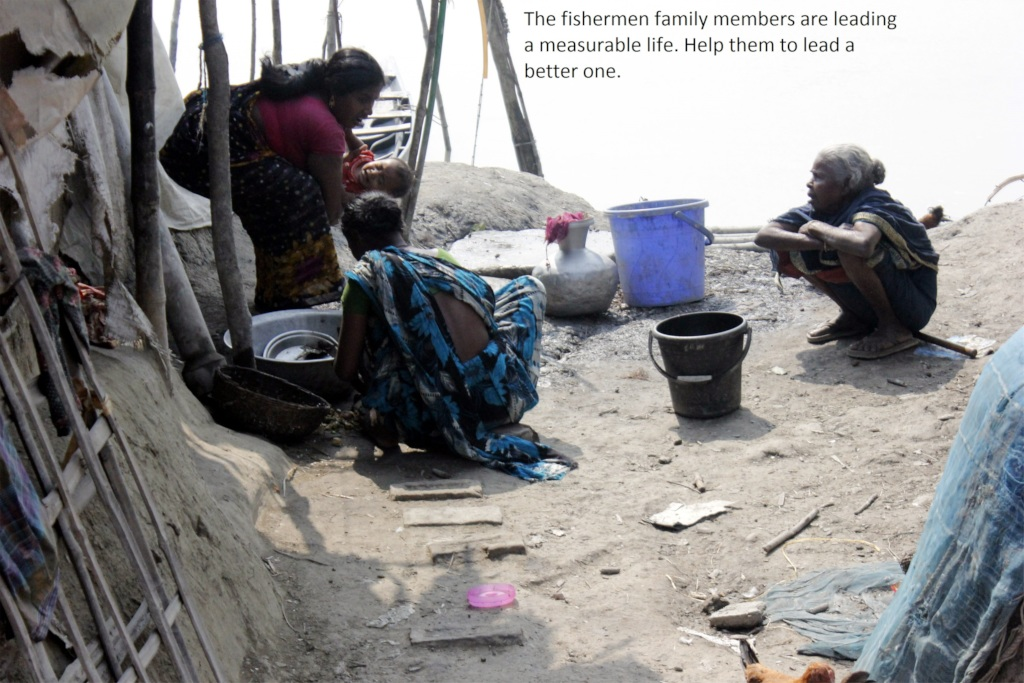 Help the fishermen families to lead a better life