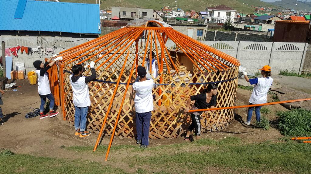 A Dream Home, GER for Mongolian Needy Children