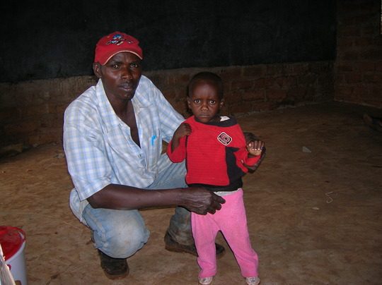 Mwanzia with CHW Mutinda