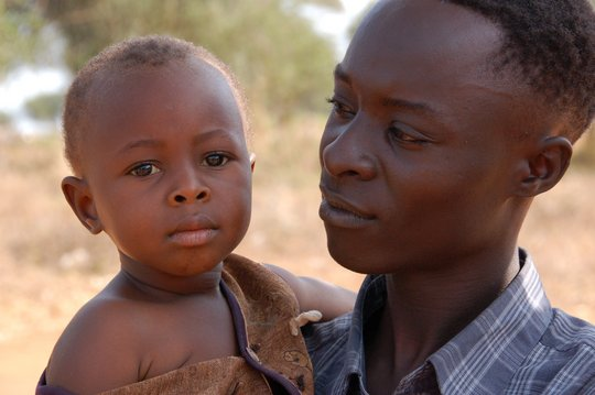 A child near Kisesini recovering from malnutrition