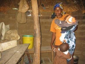 Nyamai in her home