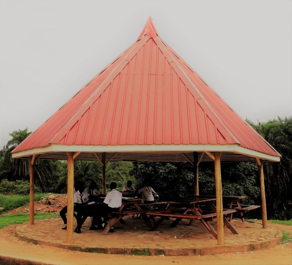 Garden Canopy For Shade And Shelter