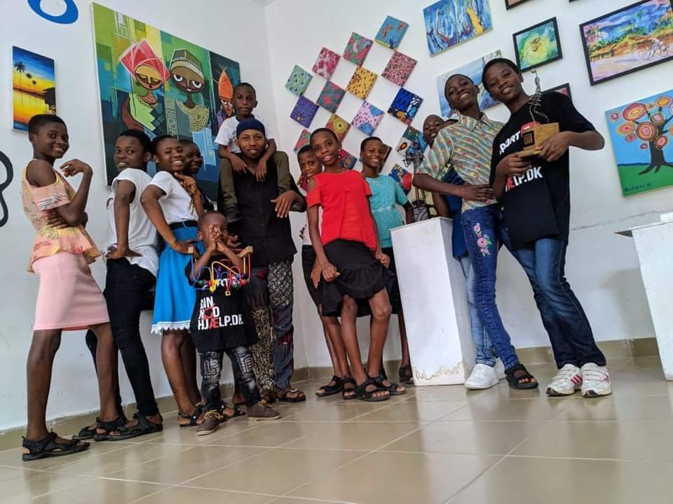 Art exhibition at Land of Hope