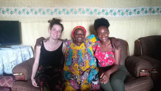 French students in Cameroon