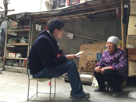 Hangzhao Interviewing Grandma