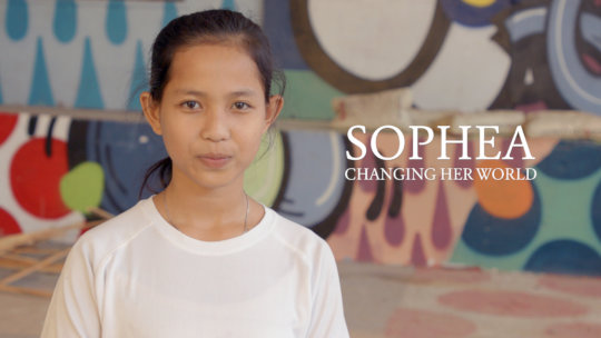 Sophea:Changing Her World