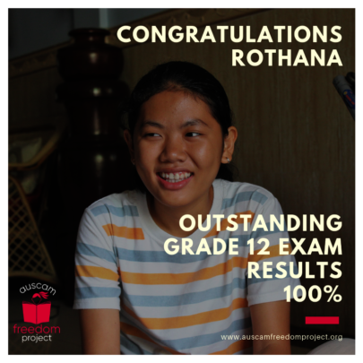 Congratulations Rothana!