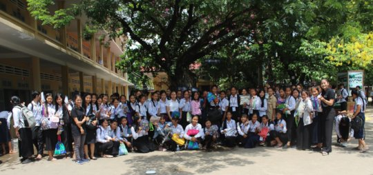 Menstrual Hygiene Day held at School