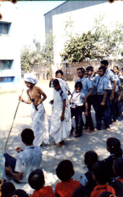 Dandi March performed by Students