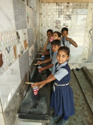 Safe Drinking Water Facility in the School