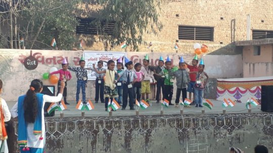 Students Participation in Republic Day