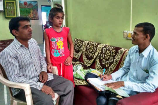 School Admission and Parent Counselling