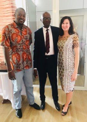 Dr. Musibono in Kinshasa