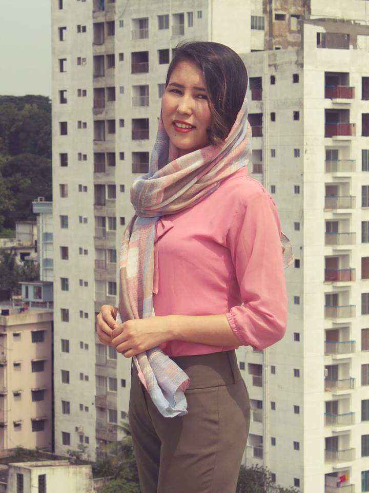 AUW Student Sabira Interning in Dhaka