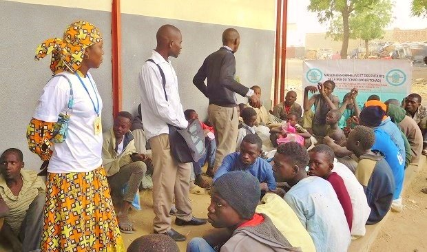 Reinserting 35 Street Children in Chadian Families