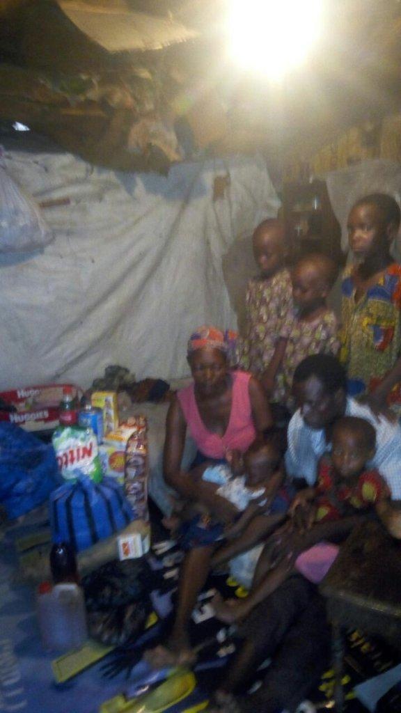 Rehabilitate Family with 6 Children in Nigeria