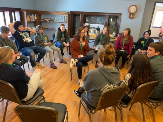 YYA Activity: Fishbowl, changing mindsets