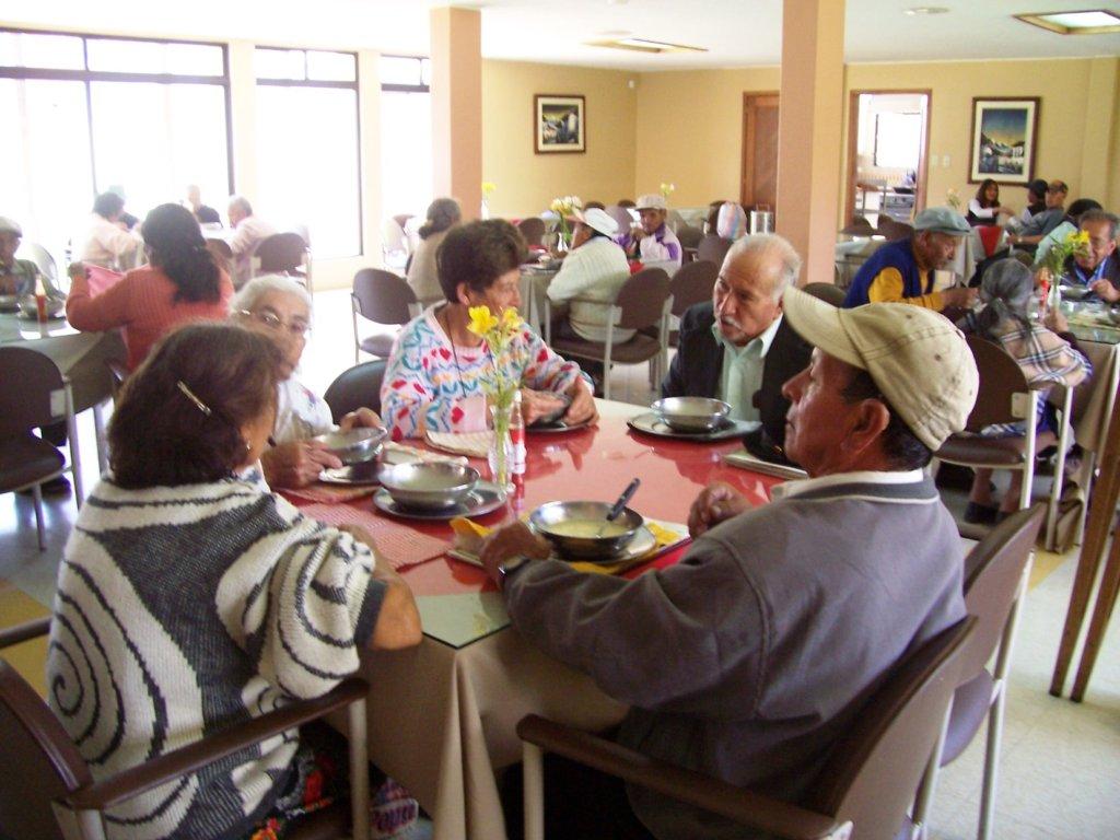 Cold Room for Senior Dining Room in  Ecuador