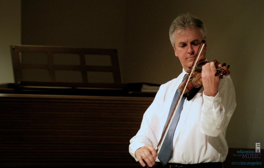 LA Phil Concertmaster Martin Chalifour Performs