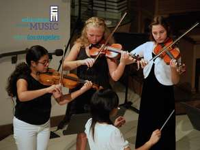 String Students Perform on July 27th