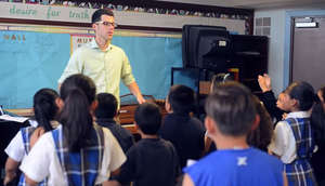 Alex, Music Teacher Inspires His Music Students