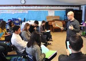 Teachers Attend Spring 2014 Training