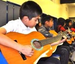 Guitar Students Perform