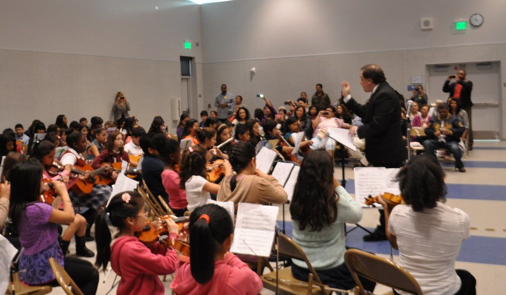 Students Across Los Angeles Join to Make Music