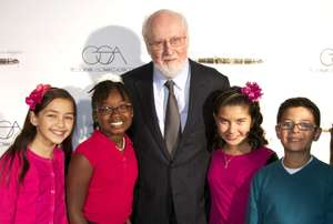 John Williams with ETM-LA Music Students