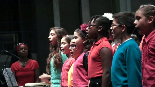 ETM-LA students sing Williams